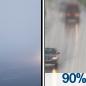 Areas Of Fog then Light Rain