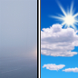 Areas Of Fog then Mostly Sunny