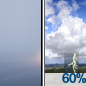 Patchy Fog then Showers And Thunderstorms Likely