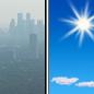 Haze then Sunny