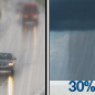 Slight Chance Light Rain then Chance Rain Showers