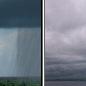 Chance Rain Showers then Cloudy