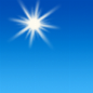 Sunny, with a high near 58. South southwest wind 2 to 6 mph.