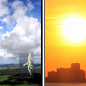 Isolated Showers And Thunderstorms then Sunny