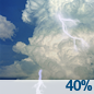 Slight Chance Showers And Thunderstorms then Chance Showers And Thunderstorms