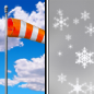Mostly Sunny then Chance Rain And Snow Showers