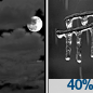 Mostly Cloudy then Chance Freezing Rain