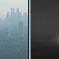 Haze then Patchy Fog