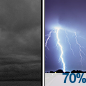 Cloudy then Showers And Thunderstorms Likely